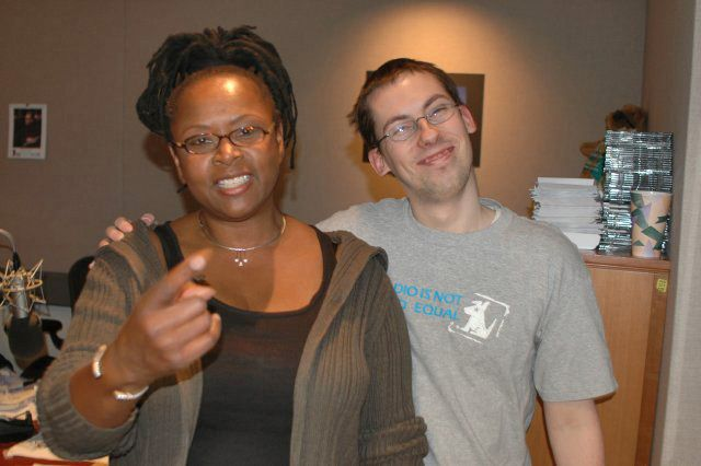 Robin Quivers and JD Harmeyer