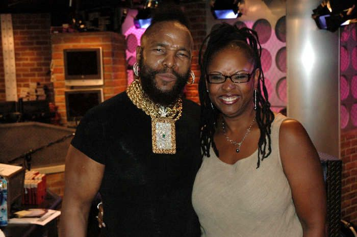 Mr. T and Robin in 2005