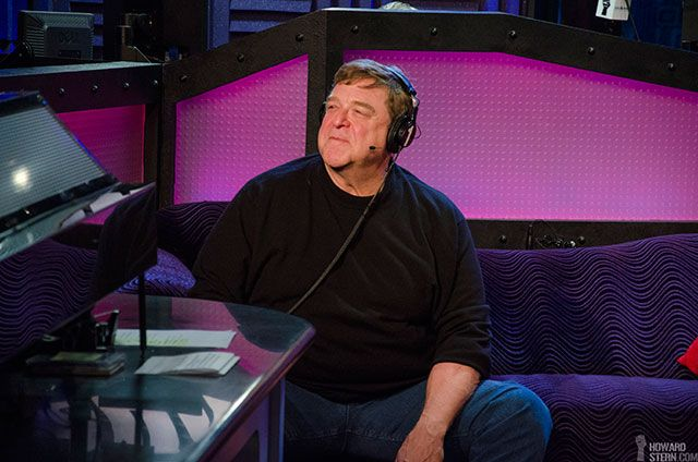 John Goodman's first visit to the Howard Stern Show on Dec. 9, 2013