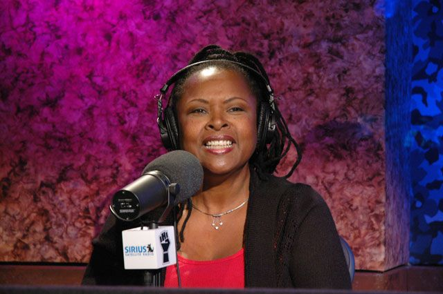 Robin Quivers on the air