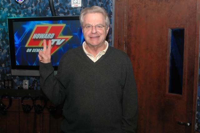 JERRY SPRINGER, THE MAYOR OF SHOW BIZ