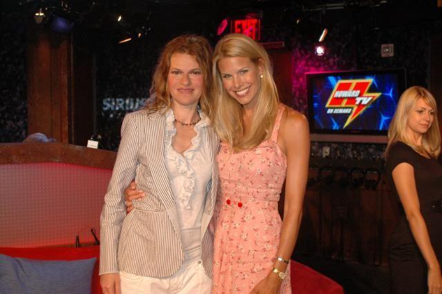 Sandra Bernhard and Beth O
