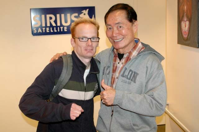 Medicated Pete Channels George Takei
