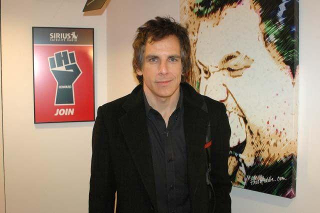 Ben Stiller visits the studio