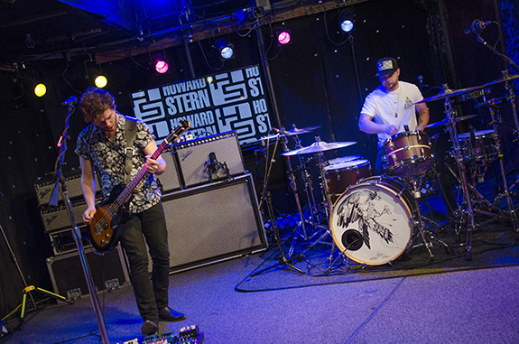 Royal Blood performs live on the Stern Show in 2015