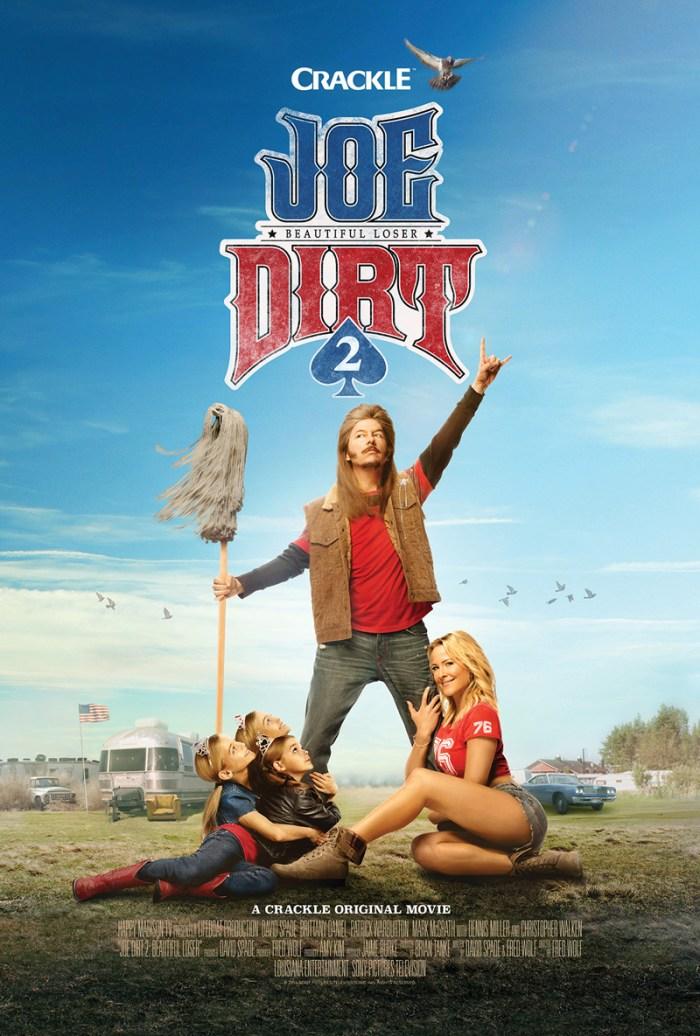 Joe Dirt 2: Beautiful Loser premieres July 16th on Crackle!