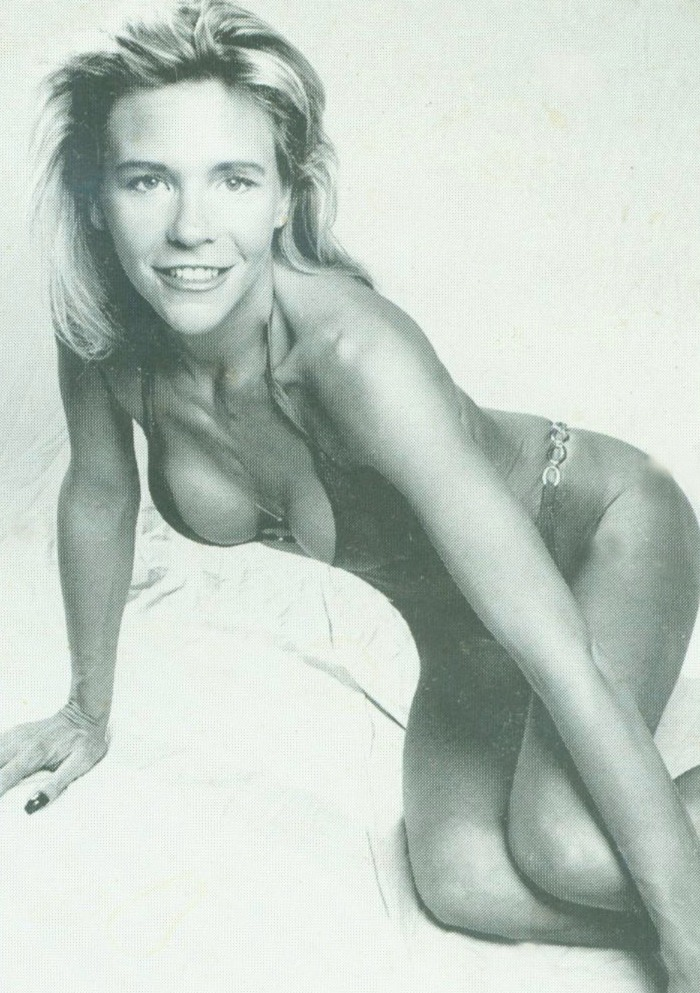 """Tan Mom"" Patricia Krentcil as an aspiring glamour model in her younger years"