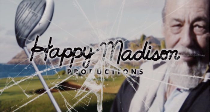 Stanley Sandler (pictured) in the Happy Madison Productions Logo