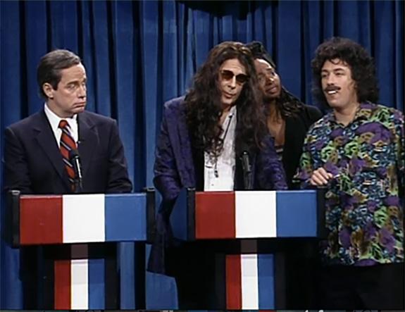 Adam Sandler as Gary Dell'Abate on SNL