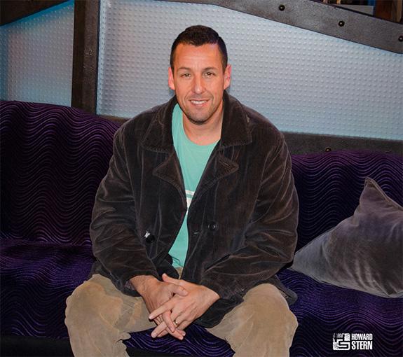 Adam Sandler on the Howard Stern Show on 12/15/15