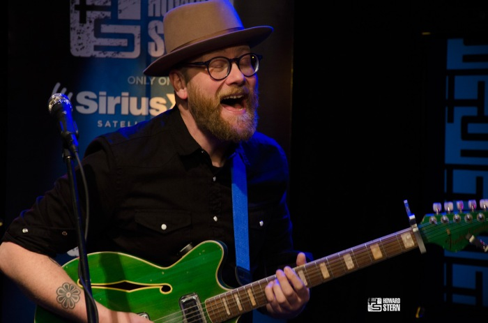 "After an appearance on the Wrap Up Show, Mike Doughty stayed to perform one of Howard's all time favorite songs, ""Super Bon Bon,"" in the Stern Show studio"