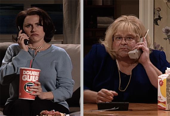 "John Goodman plays Linda Tripp on ""Saturday Night Live"""