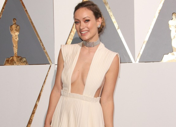 Olivia Wilde at the 88th Academy Awards