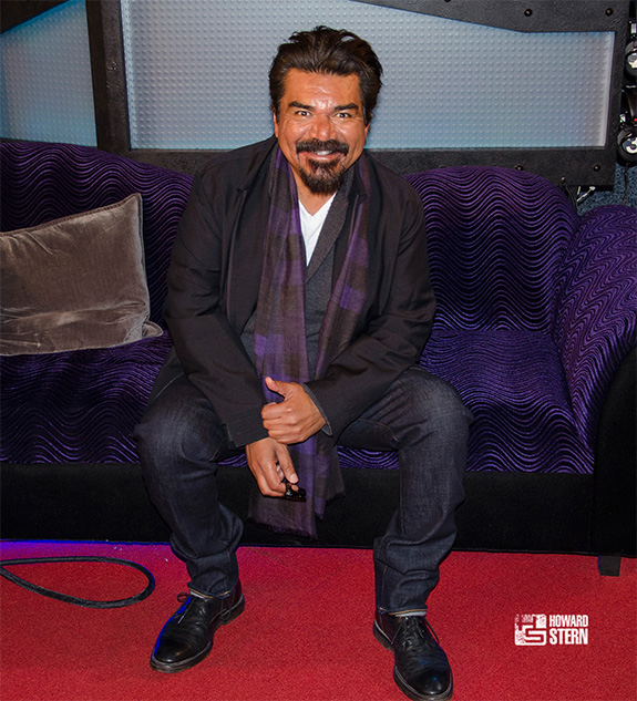 George Lopez visits the Stern Show
