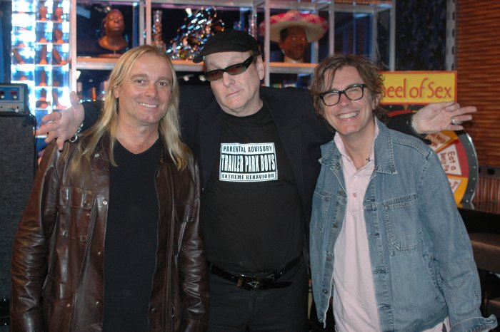 Cheap Trick on the Howard Stern Show in 2006