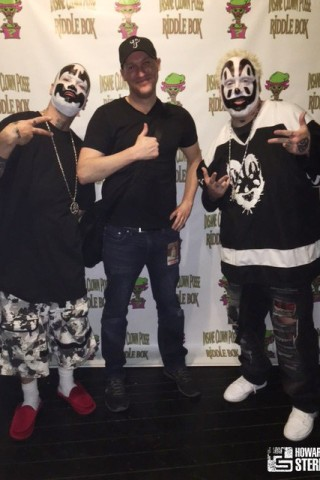 Wolfie Goes to an Insane Clown Posse Show