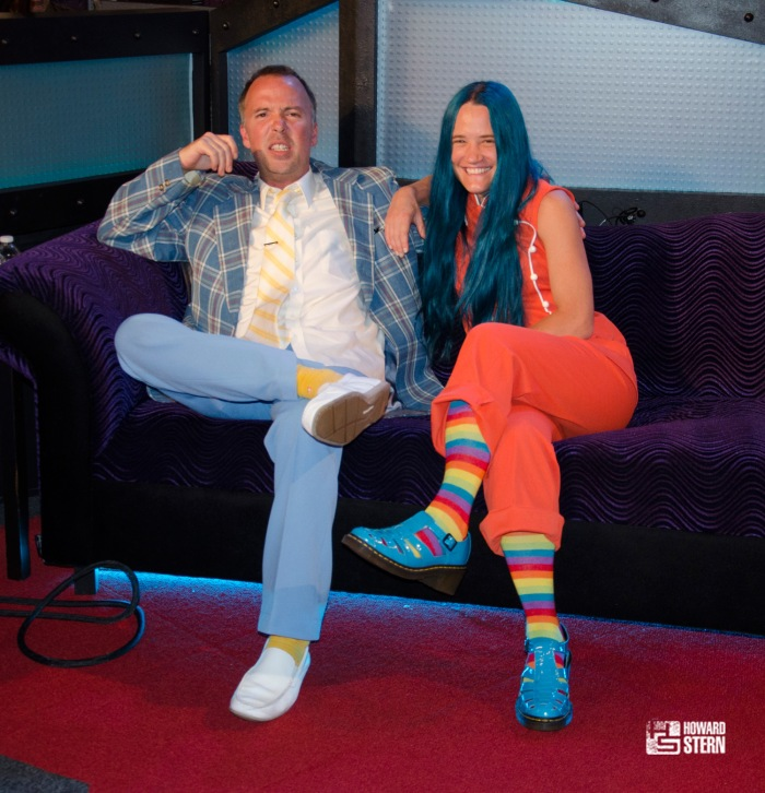 "Doug Stanhope with girlfriend Amy ""Bingo"" Bingaman"