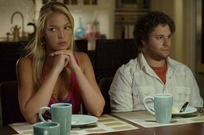 "Katherine Heigl and Seth Rogen in ""Knocked Up"""
