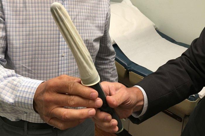 Dr. Harry Fisch's prostate probe
