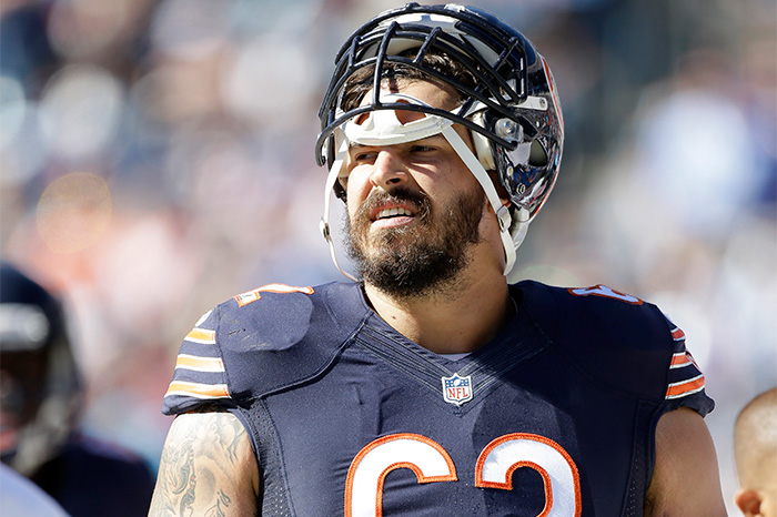 Weed smoker and former Chicago Bears lineman Eben Britton