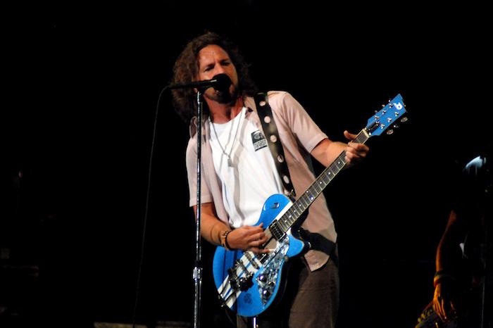 First-time nominee Eddie Vedder