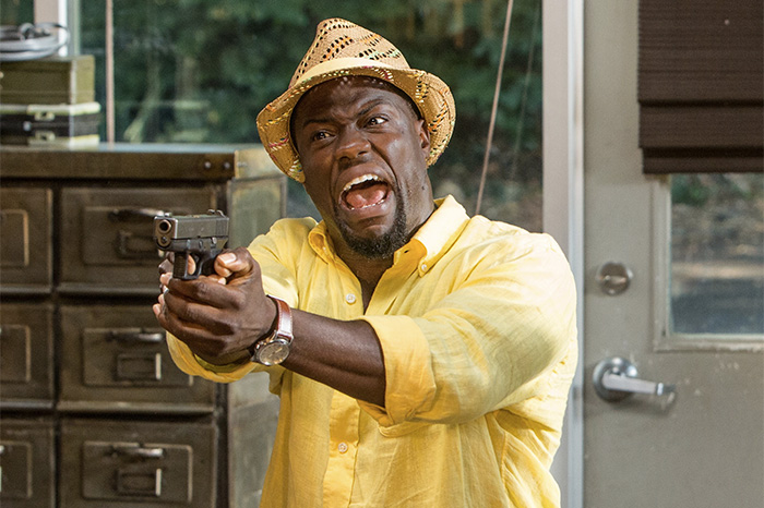 "Kevin Hart in ""Ride Along 2"" (2016)."