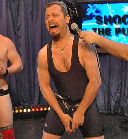 Sal Governale getting his balls shocked in 2006