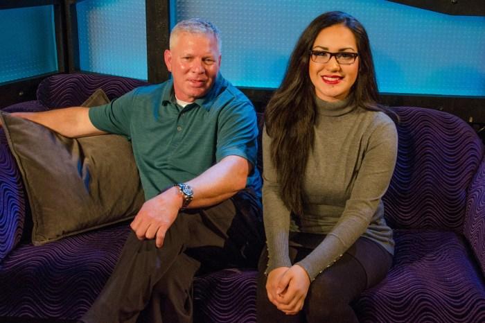Lenny Dykstra and Jasmine on the Stern Show