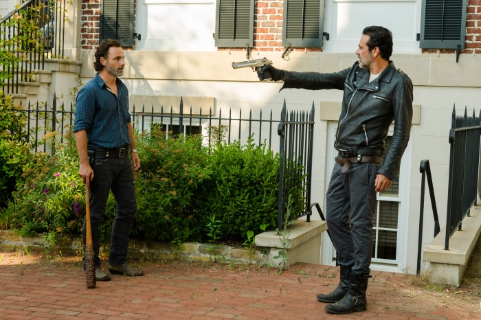 "Andrew Lincoln and Jeffrey Dean Morgan on ""The Walking Dead"""