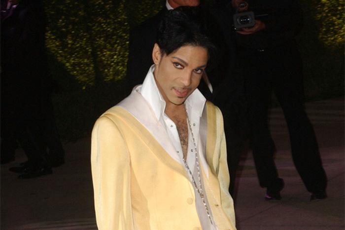 Prince at Vanity Fair's 2007 Oscars party