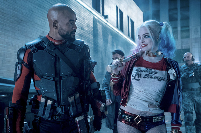 "Will Smith and Margot Robbie in ""Suicide Squad"" 2016"