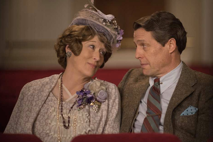 """Meryl Streep and Hugh Grant in """"Florence Foster Jenkins"""" (2016)."""