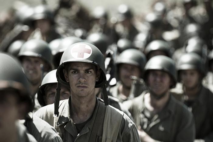 "Andrew Garfield in ""Hacksaw Ridge"" (2016)."