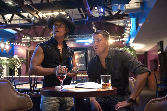 """Matthew McConaughey and Channing Tatum in """"Magic Mike"""" (2012)."""