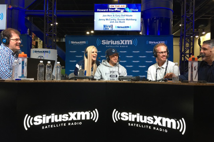 Jenny McCarthy, Donnie Wahlberg, and Joe Buck join Jon Hein and Gary Dell'Abate on the Wrap Up Show live from the Super Bowl