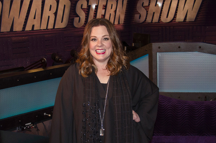 Melissa McCarthy on the Stern Show in 2016