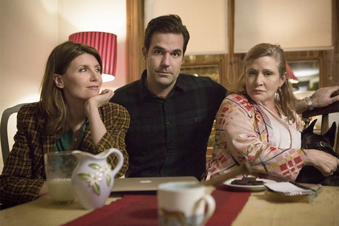 "Sharon Horgan, Rob Delaney, and Carrie Fisher on ""Catastrophe"""