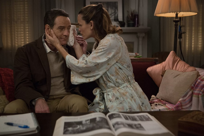 "Bryan Cranston and Jennifer Garner in ""Wakefield."""