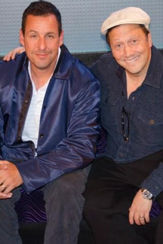 Adam Sandler & Rob Schneider Tell 'SNL' Stories