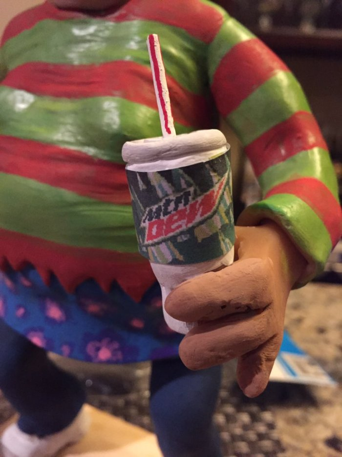 Wendy the Slow Adult's Mountain Dew Cup