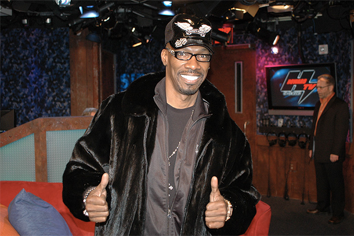 Charlie Murphy visits the Stern Show in 2010.