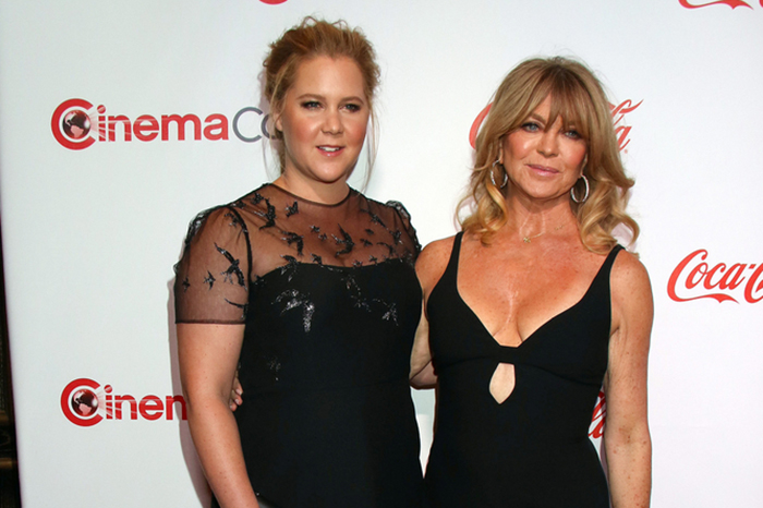 Amy Schumer and Goldie Hawn at CinemaCon 2017