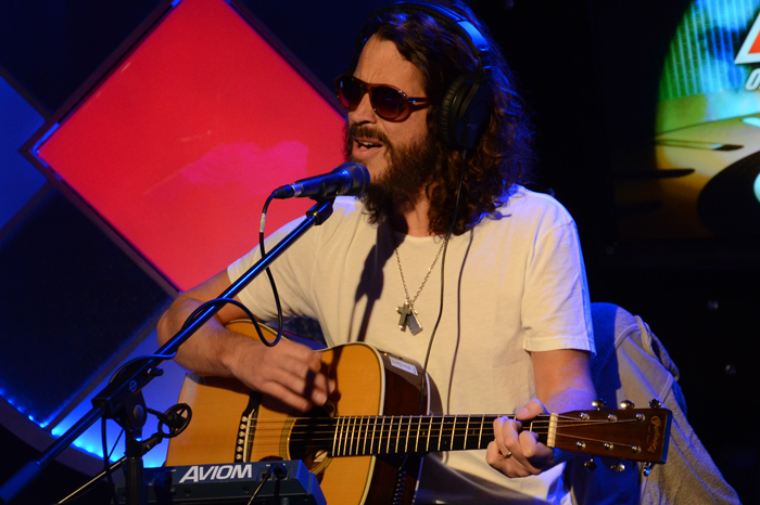 Chris Cornell performs live on the Stern Show in 2011