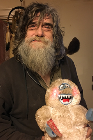 Wolfie Goes Embedded With Bigfoot Deep in Vermont