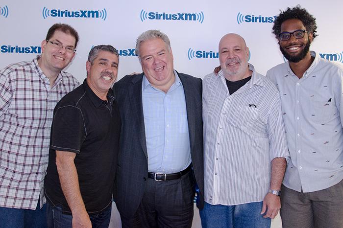Jon Hein, Gary Dell'Abate, Jim O'Heir, Scott Salem, and Rahsaan Rogers