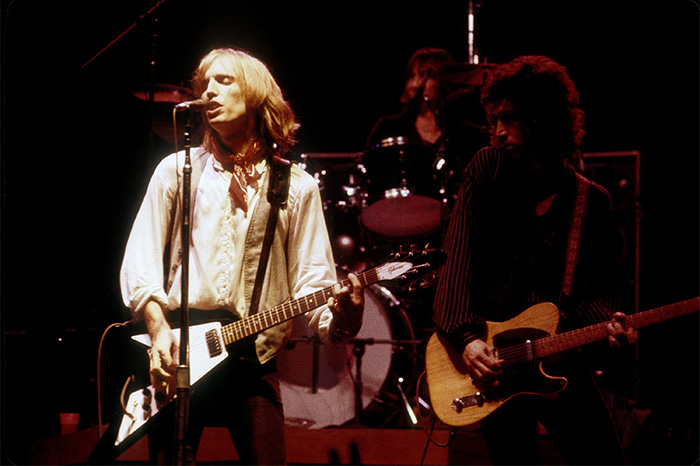 Tom Petty live in concert in 1979