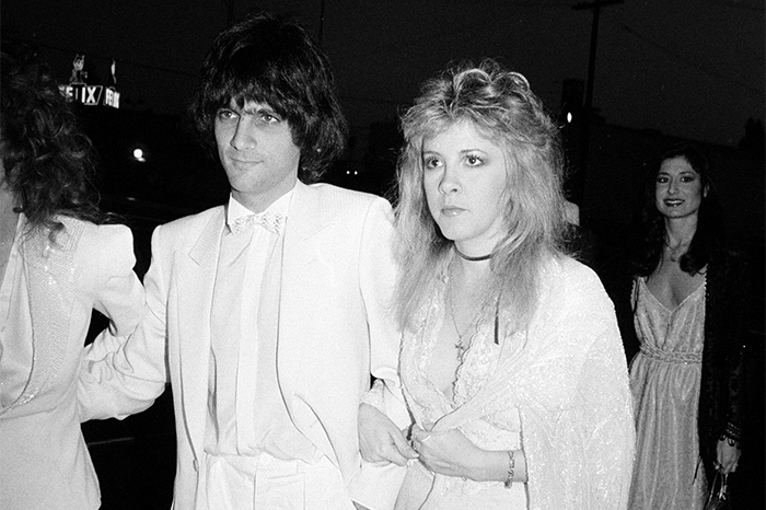 Jimmy Iovine and Stevie Nicks in 1983