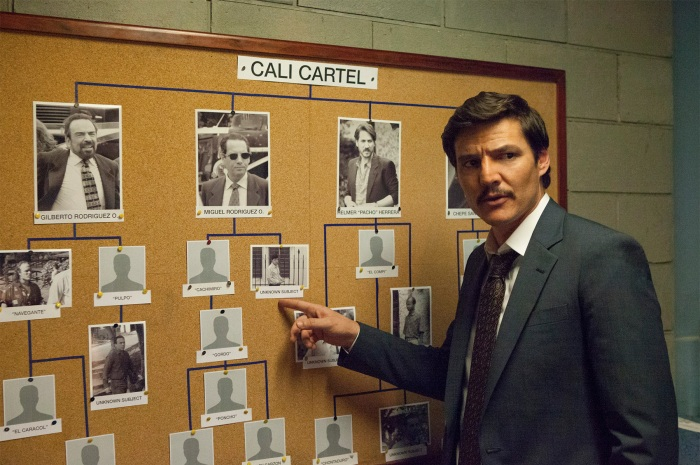 Javier Peña (Pedro Pascal) tracks the Cali Cartel on