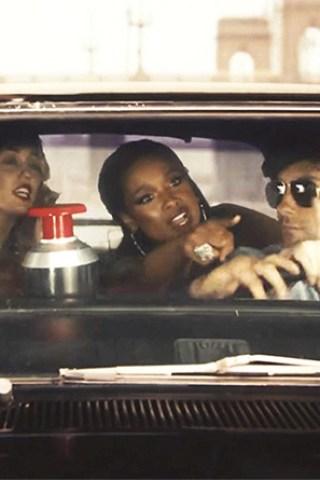 VIDEO: Adam Levine, Jennifer Hudson Spoof the '70s