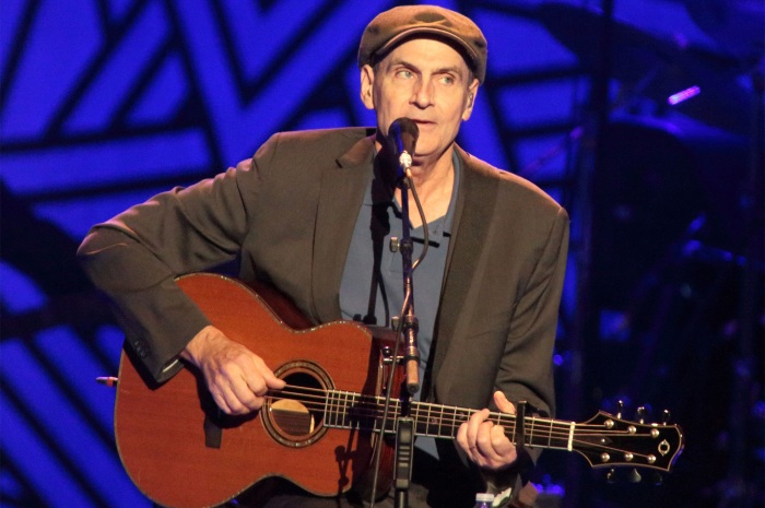 James Taylor performs in 2015